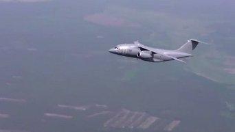 Полет украинского самолета Ан-178