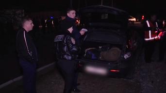 Задержание автоугонщиков в Харькове. Видео
