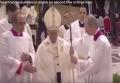Папа Римский споткнулся в церкви второй раз за три дня