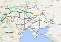 Онлайн-карта ремонта дорог в Украине