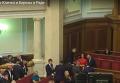 Кличко и Береза провели дебаты в Раде