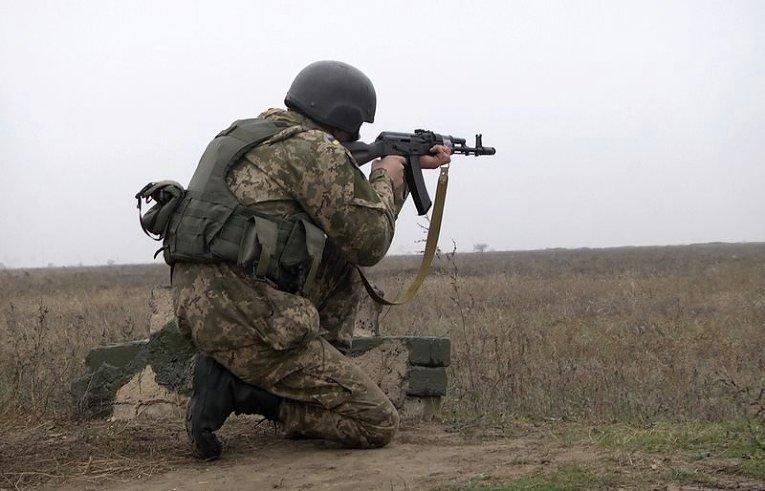 Учения 137 отдельного батальона морской пехоты под Одессой