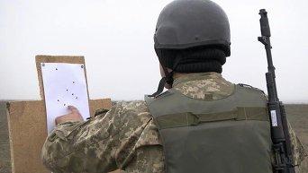 Учения 137 отдельного батальона морской пехоты под Одессой. Архивное фото