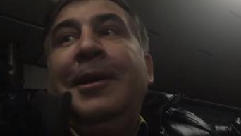 Саакашвили о поездке в Мюнхен, Коломойском и казусе с галстуком. Видео