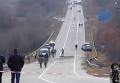 На месте крушения штурмовика Су-25 под Запорожьем. Видео