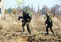 Полевые занятия первокурсников Военной академии в Одесской области