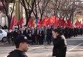 Левоцентристская оппозиция Молдавии продолжила протесты в Кишиневе. Видео