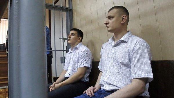 Экс-беркутовцы Сергей Зинченко и Павел Аброськин