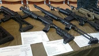 Презентация новейшего вооружения для полицейских спецподразделений и спецподразделений Нацгвардии