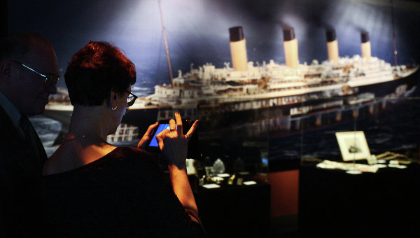 Открытие выставки Титаник: как это было