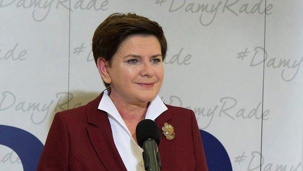Руководитель правительства Польши ушла вотставку