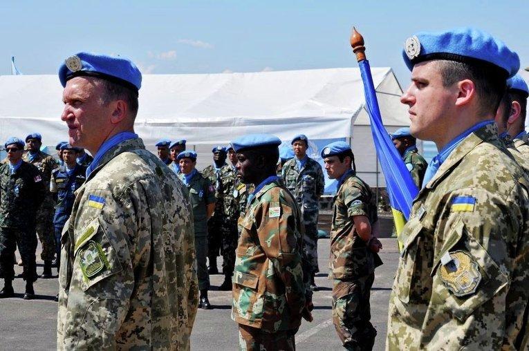 Военнослужащие национального контингента в ДР Конго приняли участие в Параде медалей Миссии ООН