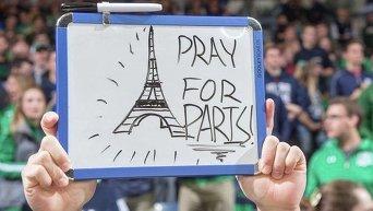 Страны мира поддержали парижан в связи с терактами