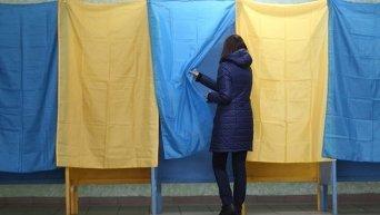 Голосование в Киеве. Архивное фото