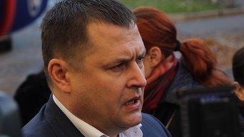 Борис Филатов в день голосования на выборах мэра Днепропетровска