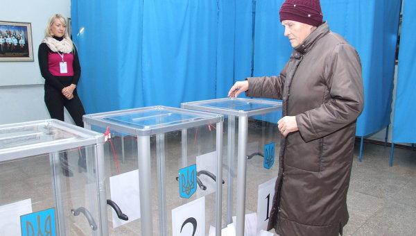 Голосование в Краматорске и Северодонецке