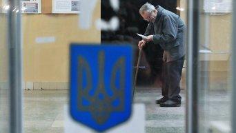 Голосование на местных выборах в Украине. Архивное фото
