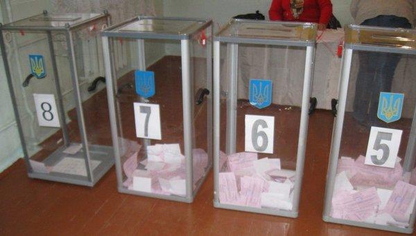Голосование в Украине на местных выборах. Архивное фото
