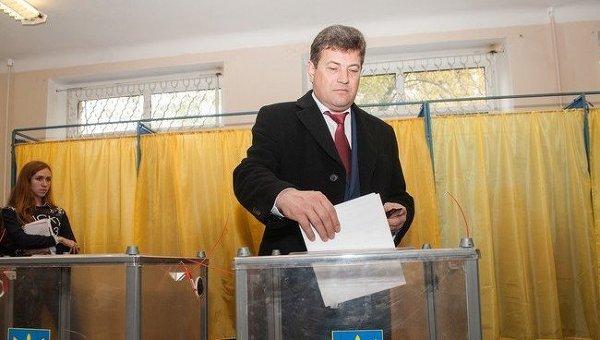 Владимир Буряк, избранный мэром Запорожья