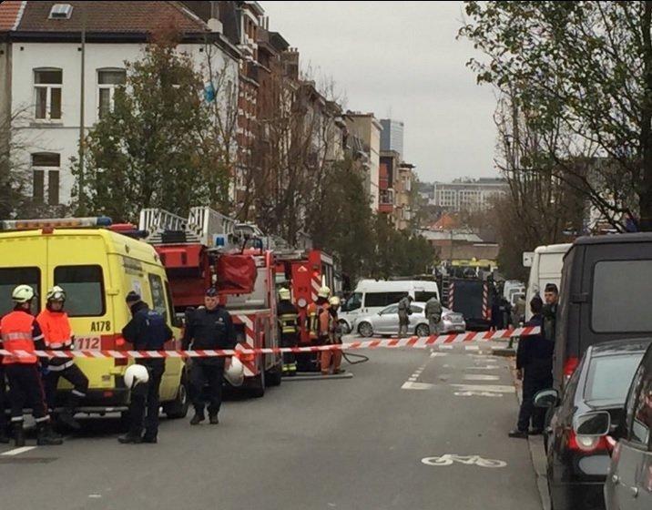 Спецоперация в бельгийском Моленбеке, где были задержаны подозреваемые в причастности к организации парижских терактов