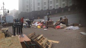 Демонтаж тарифного Майдана под Кабмином