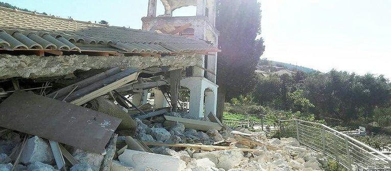 Последствия землетрясения в Греции