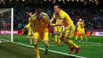 Сборная Украины вышла на Евро-2016
