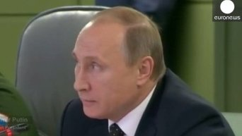 Путин приказал авиации и флоту работать с французами как с союзниками.Видео