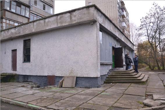 Во Львове подожгли полицию