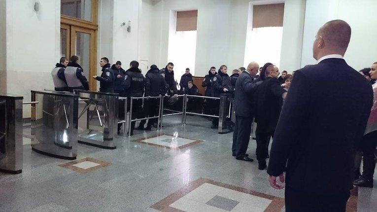 Ситуация в горсовете Харькова
