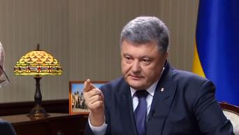 Скандальное интервью Порошенко: Донбасс, Правый сектор и бизнес-активы. Видео