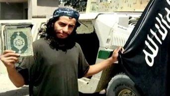 Подозреваемый в организации терактов в Европе Абдельхамид Абауд. Видео
