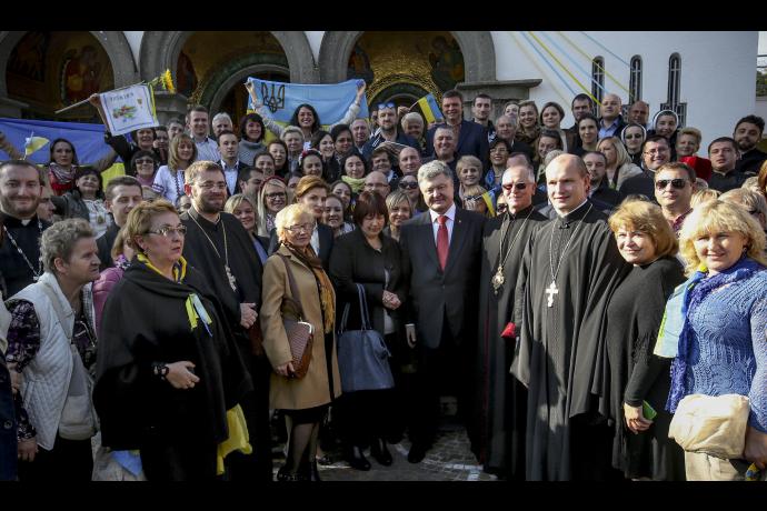 Официальный визит Президента Украины в Итальянскую Республику
