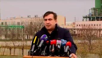 Саакашвили обвинил ОПЗ в заключении коррупционного контракта на $90 млн. Видео
