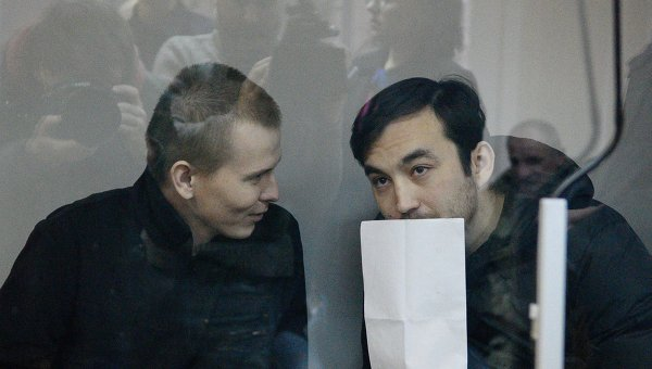 Александр Александров и Евгений Ерофеев (слева направо). Архивное фото