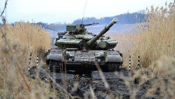 Танки Вооруженных сил Украины. Архивное фото