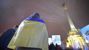 Годовщина Евромайдана: в центре Киева почтили погибших