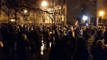 Митинг под АП в Киеве