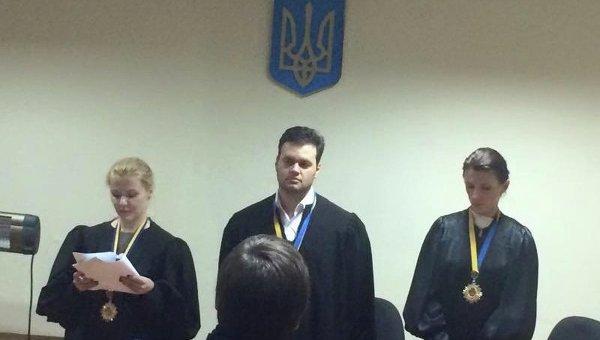 Заседание Днепропетровского окружного административного суда