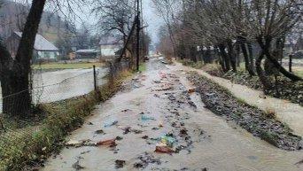Наводнение в Закарпатской области