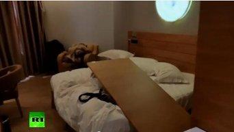 Отель в Мали сразу после спецоперации по освобождению заложников