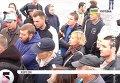 В Херсоне устроили акцию в поддержку блокады Крыма