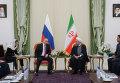Рабочий визит президента РФ Путина в Иран