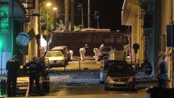 Взрыв бомбы в Афинах
