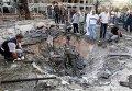 На месте взрыва в ливанском городе Триполи. Архивное фото