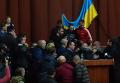 Массовая драка на сессии Полтавского облсовета. Видео