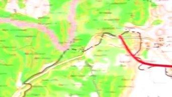 Минобороны представило схему полета сбитого Су-24 в Сирии. Видео