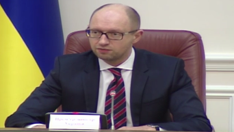 Яценюк о закрытии воздушного пространства Украины для всех самолетов РФ. Видео