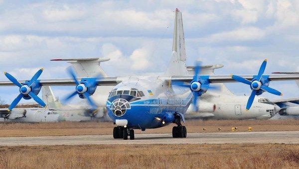 Самолет Ан-12 авиакомпании Мотор Сич