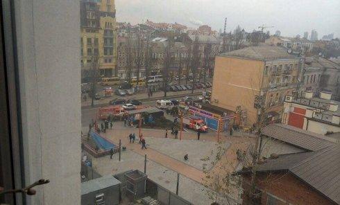Пожар в киевской Пузатой хате
